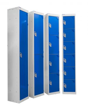 Locker - Blue Doors