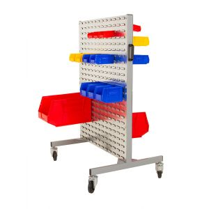 Double Sided Trolley with Bins