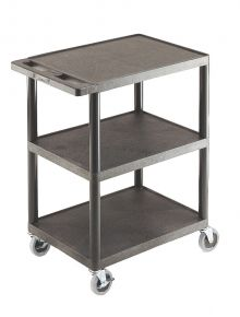 Super Strength 3 Shelf Trolley