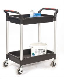 Proplaz® Plus 3 Shelf Folding Trolley